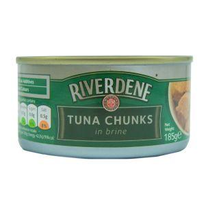 Tuna Chunks in Brine (Small Tins)-12x185g