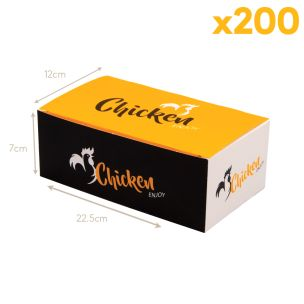 FC3 Large Enjoy Range Chicken Boxes (225x70x120mm) 1x200