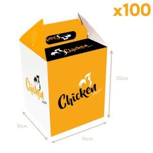 Enjoy Range Chicken Buckets (160x200x160mm) 1x100