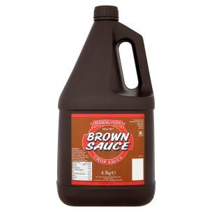 Hammonds Brown Sauce-2x4.3kg