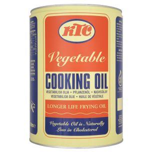 KTC Pure Vegetable Cooking Oil (Drum) 1x20L