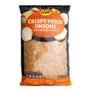KTC Gourmet Crispy Fried Onions-1x2.55kg