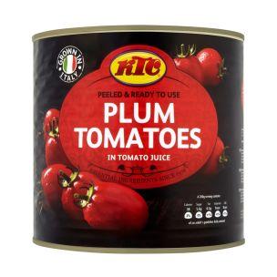 KTC Peeled Plum Tomatoes-6x2.5kg