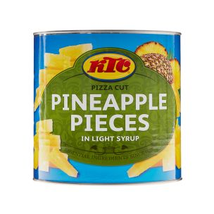 KTC Pineapple Pizza Cut Pieces in Light Syrup 1x3kg