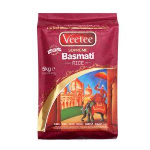 Veetee Basmati Rice (Bag)-1x5kg