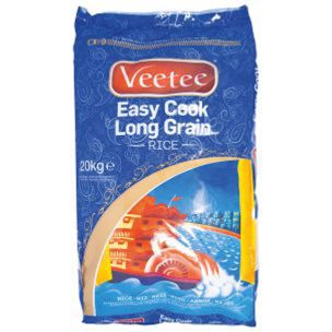 Veetee Easy Cook Long Grain Rice-1x5kg