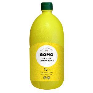 Gomo Sicilian Lemon Juice-6x1L