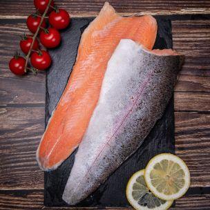 Aquafish IQF Rainbow Trout Fillets (225-350g)-1x1kg