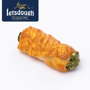 Letsdough Mini Pastry Rolls with Spinach & Cheese (12 Pieces) 1x500g