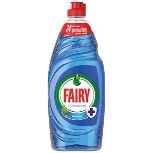 Fairy Anti Bacterial Eucalyptus Washing Up Liquid-1x625ml