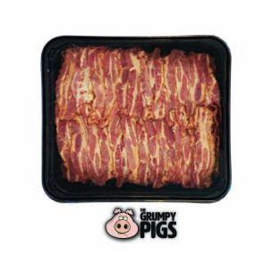 Grumpy Pigs Crispy Cooked Smoked Streaky Bacon-1x900g