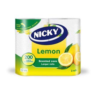 Nicky Lemon 2ply Kitchen Towel-1x2
