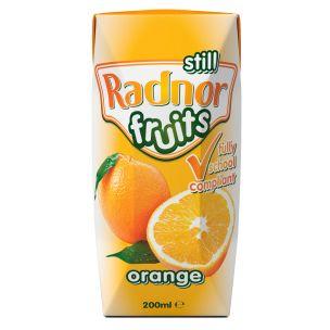 Radnor Fruits Orange Still Tetra Pak 24x200ml