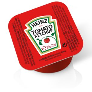 Heinz Tomato Ketchup Dip Pot 100x25g