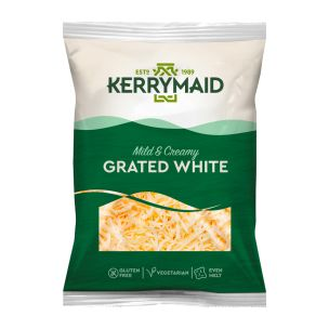 Kerrymaid Grated White Cheese-1x2kg