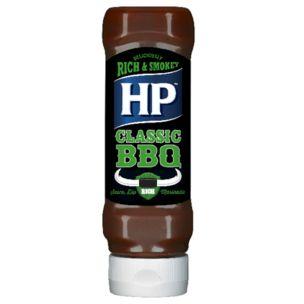 HP BBQ Classic Woodsmoke Sauce (Top Down Bottle)-8x465g
