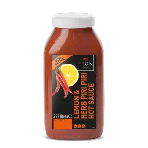 Lion Lemon & Herb Piri Piri Sauce-2X2.27L