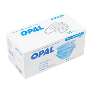 Disposable 3ply Face Mask 1x50