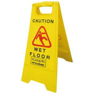 Wet Floor Sign A Frame1x1