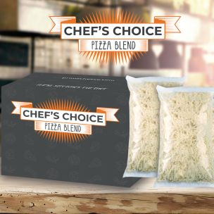Chef's Choice Grated Pizza Blend 6x1.8kg