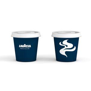 Lavazza 4oz Espresso Paper Cups (Lid Ref: CUP155)-1x1000