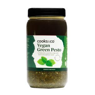 Cooks&Co Vegan Green Pesto- 1x1.1kg