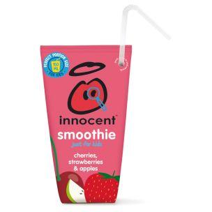 Innocent Cherries, Strawberries & Apples Smoothie For Kids 16x150ml