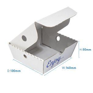 "5.5"" Cardboard Plain Boxes (140x50x160mm) 1x100"