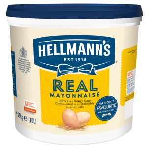 Hellmanns Real Mayonnaise (Bucket)-1x10L