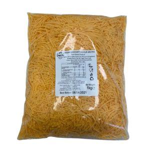 Green Vie Grated Vegan Cheddar Flavour Cheese 1x1kg