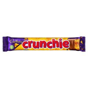 Cadbury Crunchie Chocolate Bar 48x40g