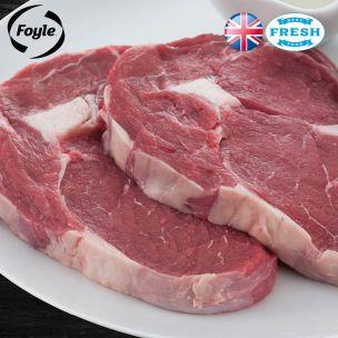 Foyle Ribeye Steak (Price Per Kg) Block Pack Appx.3kg