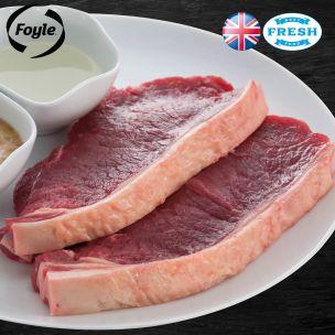 Foyle Sirloin Steak (Price Per Kg) Block Pack Appx.5kg