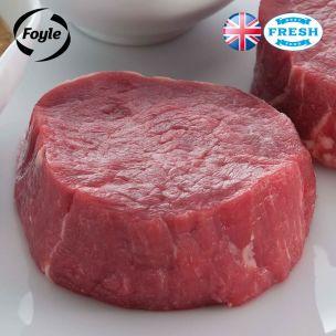 Foyle Fillet Steak (Price Per Kg) Block Pack Appx.2kg