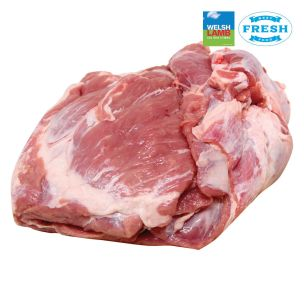 Fresh Welsh Halal Boneless Lamb Shoulders (Price Per Kg) Box Appx. 4kg