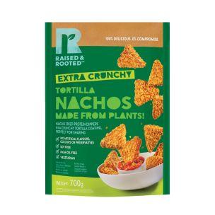 Raised & Rooted (Plant Based) Tortilla Nachos(18g)-1x700g