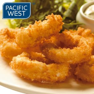 Pacific West Panko Coated (Hand Cut) Squid Rings-1x700g