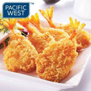 Pacific West Breaded Butterfly King Prawns-1x500g