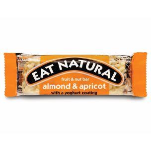 Eat Natural Almonds Apricots & Yoghurt Coating  Bar-12x50g