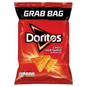 Doritos Chilli Heat Wave Tortilla Chips 24x48g