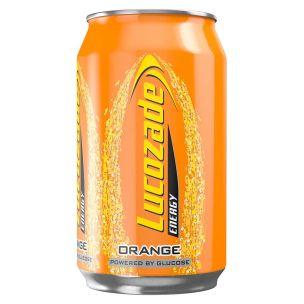 Lucozade Orange Can-24x330ml
