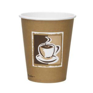 Caffe 8oz Paper Hot Cups (Lid ref CUP156) 1x1000
