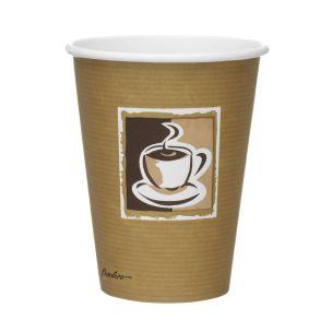 Caffe 12oz Paper Hot Cups (Lid ref CUP158) 1x600