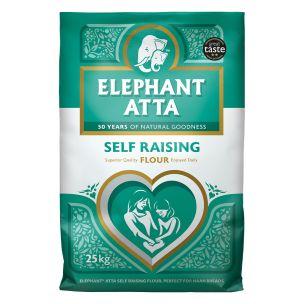Elephant Atta Self Raising Flour-1x25kg