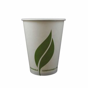 Enviroware 12oz Compostable Paper Hot Cup (Lid Ref CUP206)-1x1000