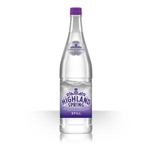 Highland Spring Still Water (Glass Bottles)-12x750ml