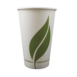 Enviroware 16oz Compostable Paper Hot Cup (Lid Ref CUP206)-1x1000
