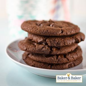 Baker & Baker Double Chocolate Cookie Dough-90x50g