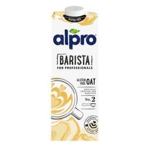 Alpro Oat Gluten Free Milk for Professionals-1x1L