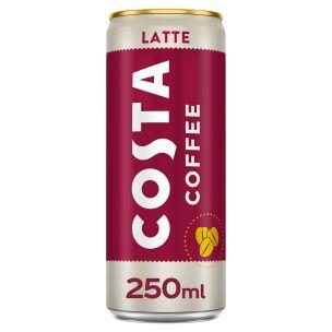 Costa Coffee Latte 12x250ml